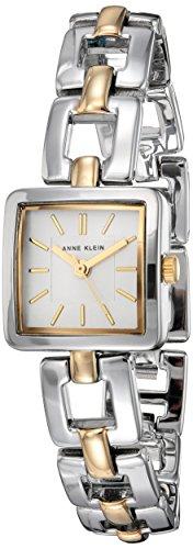 Silver Tone Open Link Watch (Anne Klein Women's AK/2823SVTT Two-Tone Open Link Bracelet Watch)