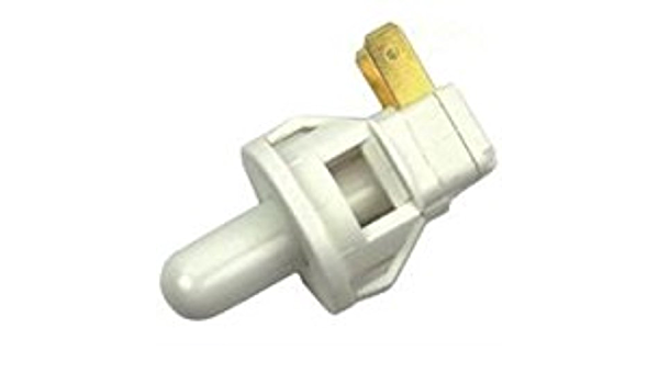 """Commercial Momentary On//Off 2 Tab Push Light Switch W// 5//8/"""" Long Plunger"""