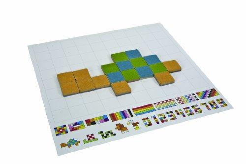Plantoys mosaico de madera 50 piezas - Mosaico de madera ...
