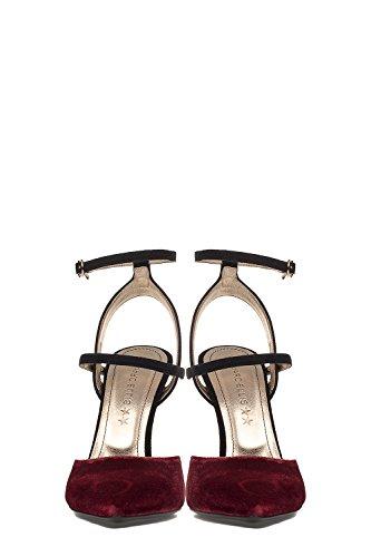 MARC ELLIS Sandalias de Vestir Para Mujer Blanco/Rojo It - Marke Größe