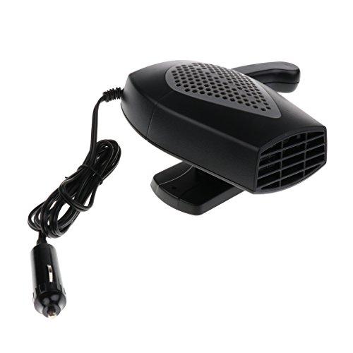 Jili Online Universal Car Truck Auto Heater Hot Cool Fan Windscreen Window Demister 24V - Black by Jili Online (Image #7)