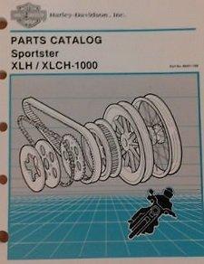 1964 1965 1966 1967 Harley Davidson XLH XL XLCH Sportster Parts Catalog - Davidson Harley Catalog