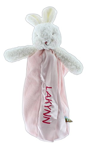 Personalized Embroidered Bunnies by the Bay Buddy Blankets (12