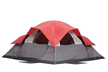 Coleman Family 3-Room Eight-Person Dome Tent  sc 1 st  Amazon.com & Amazon.com : Coleman Family 3-Room Eight-Person Dome Tent : Sports ...