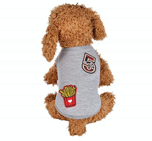 hes for Small Dog, Dogs Clothings, Dog Coats Jacket Windproof Hoodies, Winter Warm Padded Thickening Vest Sequined Dog Costumes Puppy Costumes Apparel ()