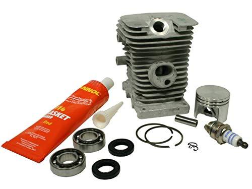 Zylinder Set alte Version passend für Stihl 018 MS180 38 mm 10 mm Kolbenbolzen