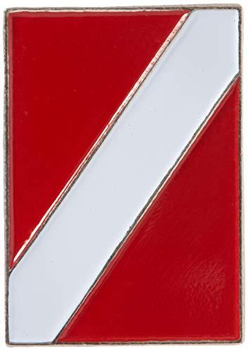 EagleEmblems P00421 Pin-Scuba Diving Flag (1'')