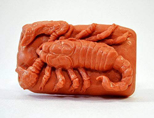 SCORPION SILICONE MOLD SOAP PLASTER WAX RESIN CLAY -
