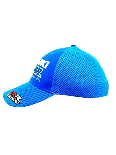Talla Gorra única béisbol Suzuki Azul para Azul de Hombre zwZwA0q