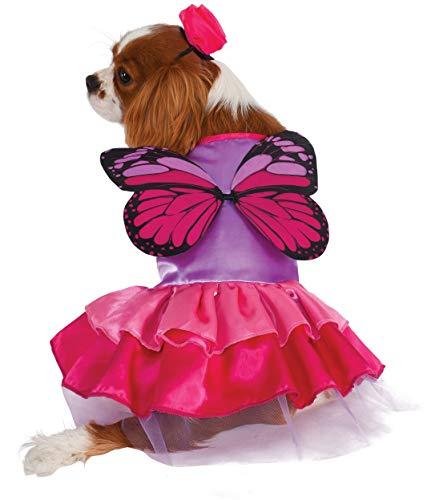 Rubie's Pink and Purple Fairy Pet Costume, Medium ()