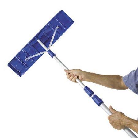 Snow Joe 21' Twist-n-Lock Telescoping Snow Shovel Roof Ra...