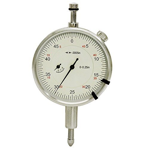 0.0005'' Graduation 0.25'' High Precision dial Indicator AGD 2 Lug Back Gauge