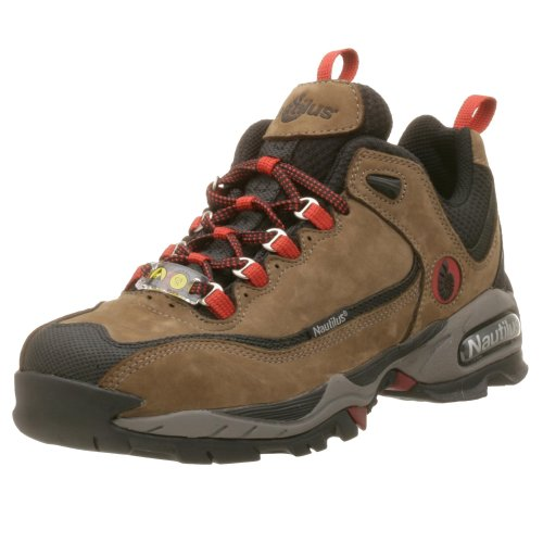 Nautilus 1392 ESD Safety Toe Athletic Shoe,Moss,9.5 M ()