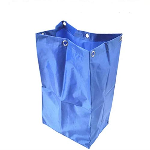 E-House Replacement Janitorial Cart Bag, Waterproof High Capacity Thickened Housekeeping Commercial Janitorial Cleaning Cart Bag, 16 x 11 x 27inches