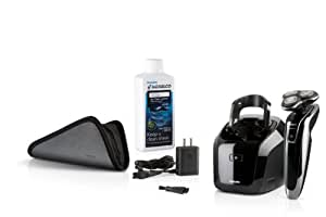 Philips Norelco 1250X/47 SensoTouch 3D Electric Razor with Jet Clean System, Frustration Free Packaging (Series 8000)