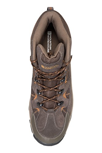 Mountain Warehouse Rapid Mens Boots - Waterproof Hiking Shoes Orange YNBs4
