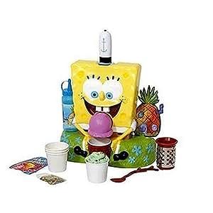 SpongeBob SquarePants Deluxe Soft Ice Cream Server and Sno Cone Maker
