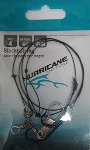 Hurricane Hr Blackfish Rig Sz4 60Lb Wire Fishing-Equipment ()