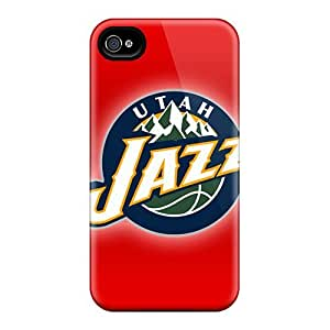 Iphone Case - Tpu Case Protective For Iphone 4/4s- Utah Jazz