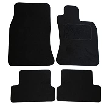 JVL Fully Tailored Car Mat Set - 4 Pieces, Black 1182