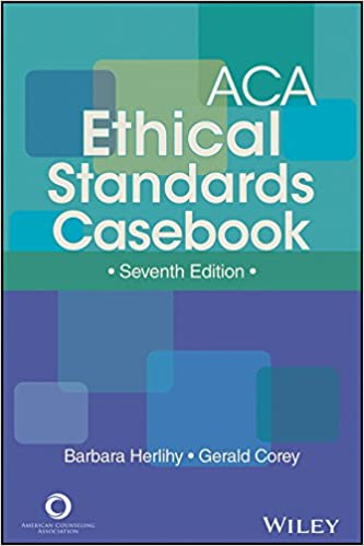 :READ: ACA Ethical Standards Casebook, Seventh Edition. TEPHINET Objeto permite tambien Mujer Ambito