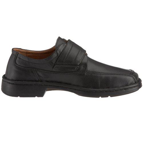 Josef Seibel Schuhfabrik GmbH Spike 33206 43 600 - Zapatos clásicos de cuero para hombre Negro (black)