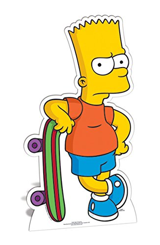 Star Cutouts Cut Out of Bart Simpson