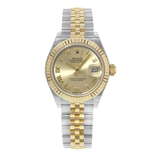 Rolex Datejust Champagne (Rolex Lady Datejust Champagne Dial Steel and 18K Yellow Gold Ladies Watch 279173CRJ )