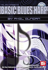 (Basic Blues Harp QWIKGUIDE Book/CD Set )