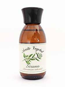 Aceite de Sésamo ecológico. Certificado BIO. 125 ml.