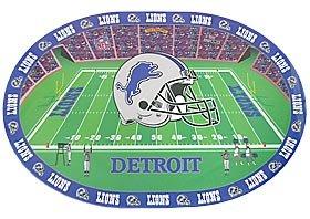 NFL Detroit Lions Placemats (4 Pack)
