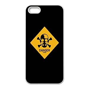 Walter White Danger Sign Vector iPhone 4 4s Cell Phone Case White Gift pjz003_3286757