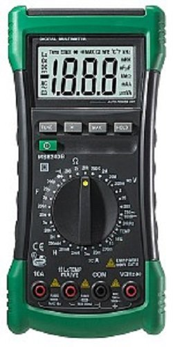 Mastech MS8240B Digital Multimeter, LCD Display, Back Light, 2000 Counts, 205 mm x 102 mm 58 mm