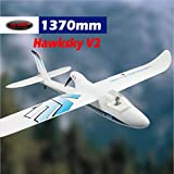DYNAM RC Trainer Airplane Hawksky V2 1370mm Wingspan-PNP