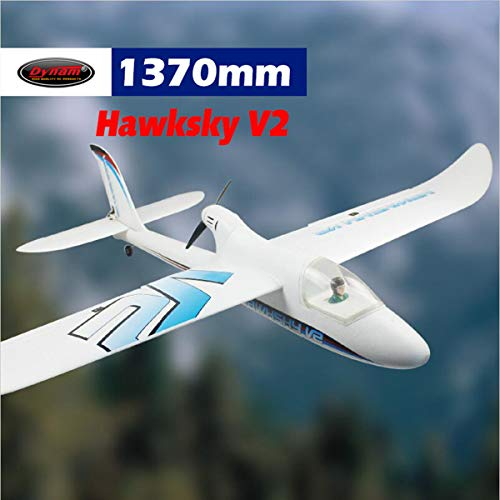 - DYNAM RC Trainer Airplane Hawksky V2 1370mm Wingspan-PNP