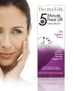 Biotech, Dermasilk 5 Min Face Lift Immediately Lifts, Tightens and Firms Aged Skin - Anti Aging Skin Cream - Last up to 8 Hours Significantly Reduces the Appearance of Fine Lines, Wrinkles and Sagging Skin 1 oz
