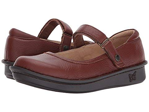 - Alegria Women's Belle Pecan Mary Jane Shoe (BEL-738) Size: Euro 42 \ US 11.5-12, Width: Medium