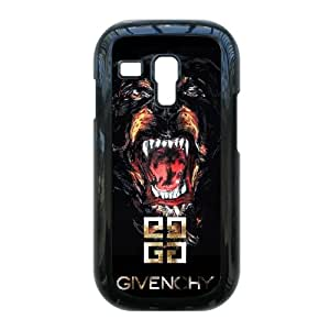 Hard Plastic Cover case Luxury brands Givenchy logo,Givenchy Fashion Classic style 3,TPU Phone case for Samsung Galaxy S3 Mini i8190,black