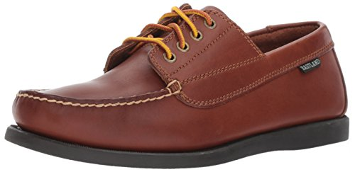 Eastland Men's Falmouth Four Eye Camp Moc Oxford,Tan,9 D