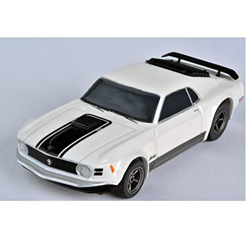 AFX/Racemasters Mustang Mach 1 - White, AFX22000
