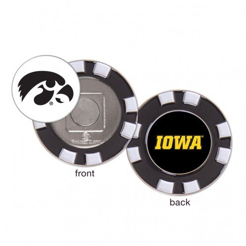 Iowa Hawkeyes Ball Marker Challenge Coin Poker Chip Metal by Wincraft