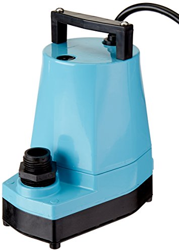 Little Giant 505005 5-MSP 1/6 HP Submersible Utility Pump, 1200GPH (5 Msp Submersible Pump)