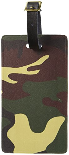 Camouflage Luggage Tag - Graphics & More Camouflage Army Soldier Luggage Tags Suitcase Carry-on Id, White