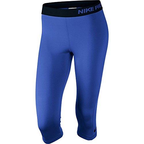 Nike Ladies Pro Capri (XLarge, Gam Royal/Black)