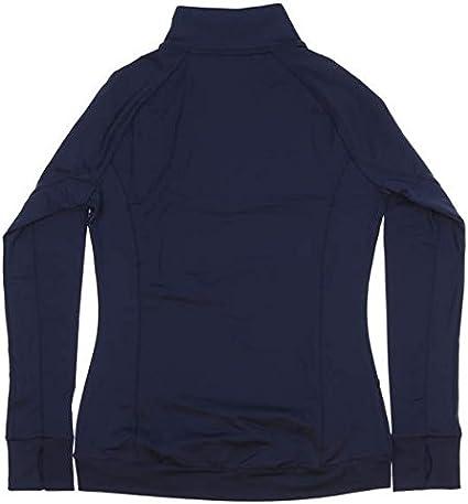 ADAMS USA Long Sleeve Convertible Black Half Zip Pullover Jacket