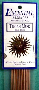 2019人気No.1の チベットムスクEscential Sticks Essences Incense Sticks Incense Essences B001374IGG, 鎌倉市:dd93de3a --- egreensolutions.ca