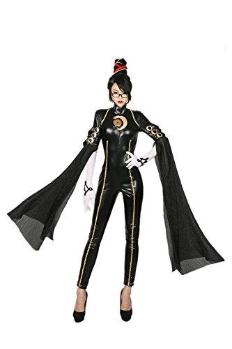 Bayoneta Costume Deluxe Black PU Polyester CL Cosplay XL