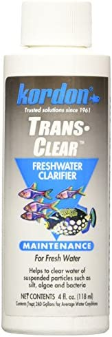 KORDON  32244  Trans Clear Fresh Water for Aquarium 4-Ounce