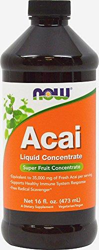 NOW Foods Acai Superfruit Liquid Concentrate-16 Liquid ()