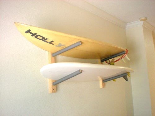 Surfboard Wall Rack Mount - Holds 2